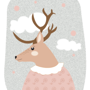 illustration cerf