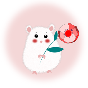 illustration hamster